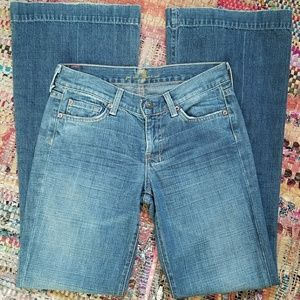 7 For All Mankind Dojo Flare Jean
